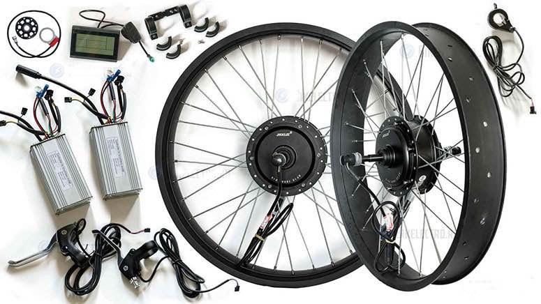 Переделка велосипеда в электровелосипед