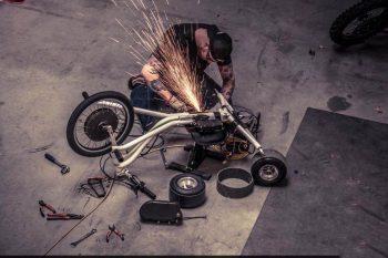 Производство Пространственных Рам Электровелосипеда Электромотоцикла