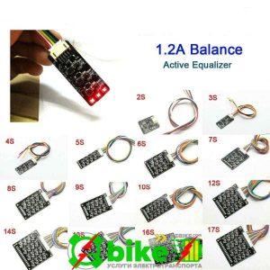 Активный Балансир 1.2A ток баланса LiPo LifePO4 2-17s