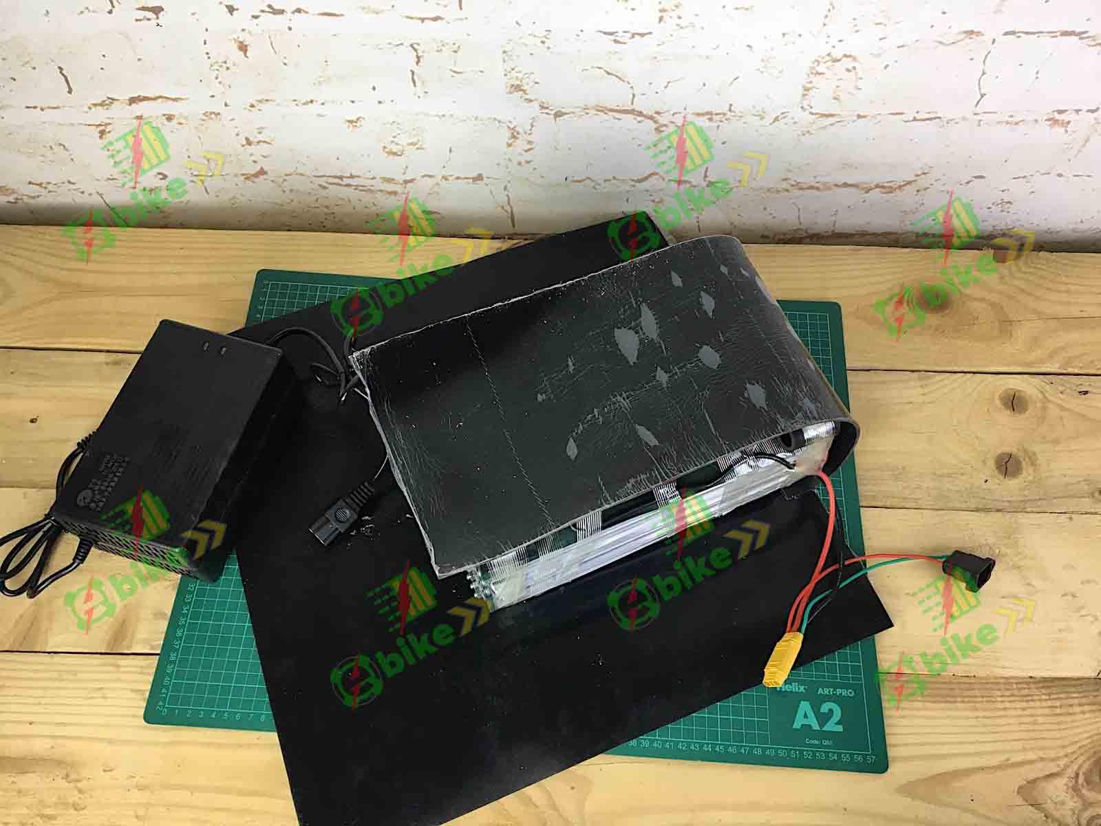 Сборка Аккумулятора из пакетов LiHV 4,35v 17s для электрического трицикла