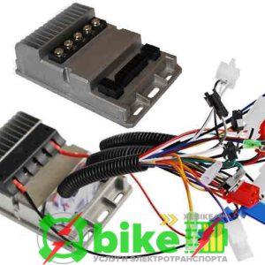 Специальный трехскоростной реверсивный щеточный контроллер 350W 500W