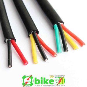 Силиконовый гибкий высокотемпературный YGC кабель 2-жильный / 3-жильный / 4-жильный