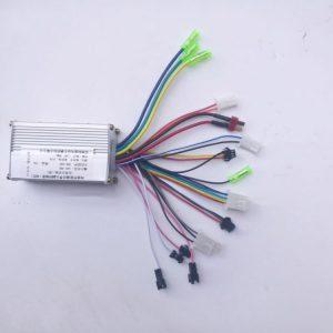 Реверсивный литый алюминиевый бесщеточный контроллер 24V/36V/48V 350W